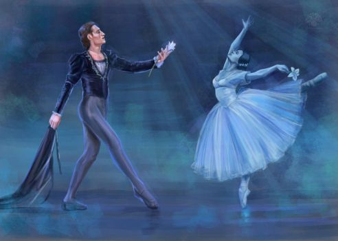Giselle and Albert by Nismiana