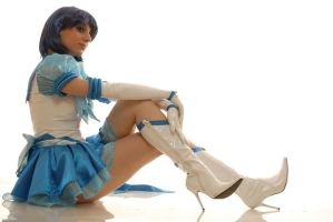 cosplay Sailo  Mercury -7 by sadakochan87