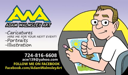 New Business Card by Walmsley