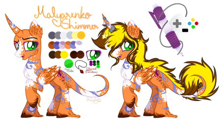 (CP) Malyarenko Shimmer reference by MelodySweetheart