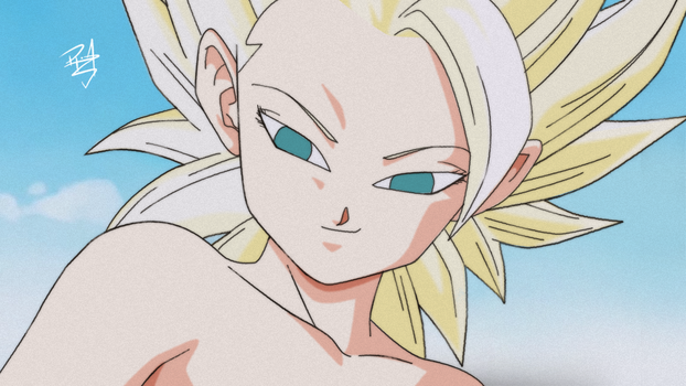 Caulifla with an alternative coloration by RenanFNA