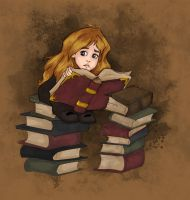 The Bookworm by Ninidu