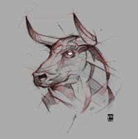 20170629 Bull Psdelux by psdeluxe