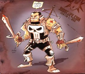 Medieval Punisher by jusscope