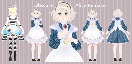 [Model] Obscure Alice Remake by StylinSorrowMMD