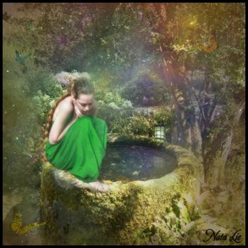 Magical Well by escariel