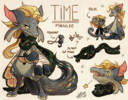 Time Ref. Sheet [CM] by Baraayas