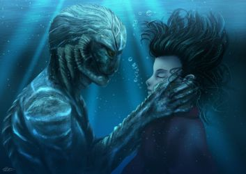 The Shape of Water by S0mniaLuc1d0
