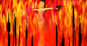 witch hunt burn the witch by softsai