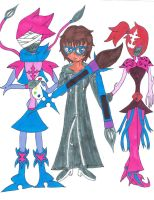 Organization XIII Ahnxnah and Her Nobodies by sonichannah