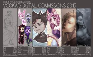 COMMISSION PRICES 2015 by V0D-KA