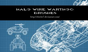 Brushes - Halo Wire Warthog Brushes by cfowler7