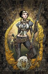 Lady Mechanika 0 Cover colors by joebenitez