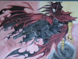 Vincent Valentine by The-MuseDragon