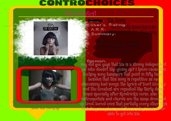 ControChoices- The Greatest by Hipsterchipster