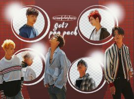 got7 Png pack by IWannaFuckStylinson