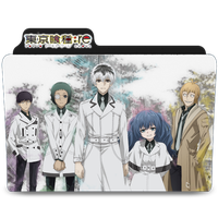 Tokyo Ghoul:re Generic Folder Icon by Kiddblaster