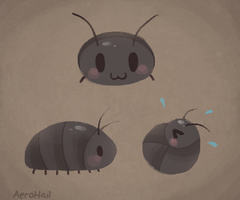 Roly Polies are cute by Aer0Hail