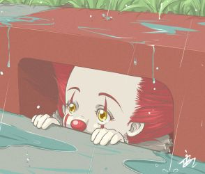 Another Rainy Day for Pennywise by Maygreen