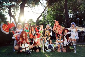 Queen's Blade group by MiciaGlo