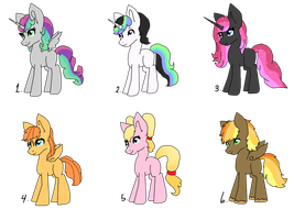 NG Pony Adopts {OPEN} by DreamCloudAdopts