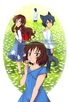FA: Wolf Children- We Move On by LightDarkSoySauce