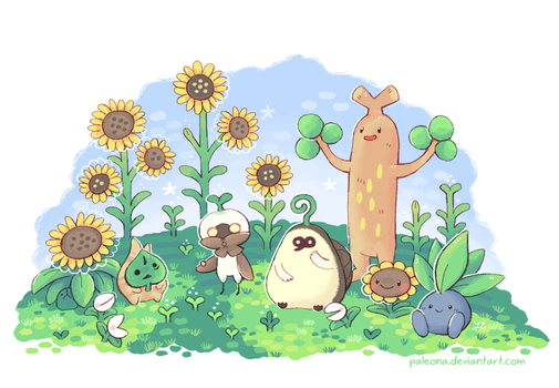 plant buddies by Paleona