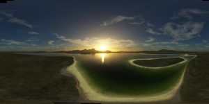 Tropical Sunset - Spherical HDRI Panorama Skybox by macsix