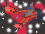 Yveltal 3D Profile Picture! by Superqami