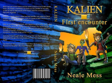 Book cover KALIEN by Zilverbergelf