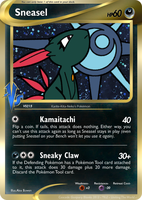 Sneasel Vs2 Fake Card by icycatelf