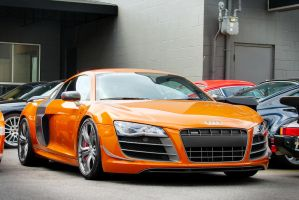 Valcano Orange R8 GT by SeanTheCarSpotter