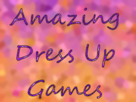 Amazing Dress Up Games - Title Screen by xVanyx