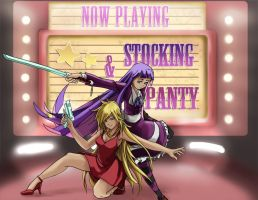 panty and stocking print by Limited-Access