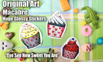 Eye See How Sweet You Are Sticker Set by SulkyRusalka