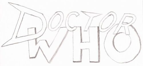 Doctor Who Fan Logo (Rough Sketch) by EkardShadowreaver