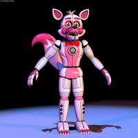 Funtime Foxy V1 by The-Smileyy