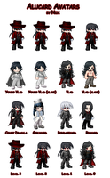 Alucard Avatars by Nox-dl