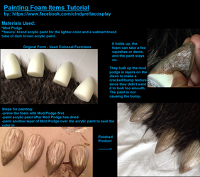 Foam Painting Tutorial by DreamVisionCreations