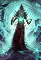 The Mind flayer by CarstenO