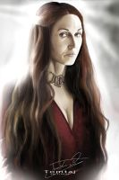 Melisandre #Game of Thrones by Tomtaj1