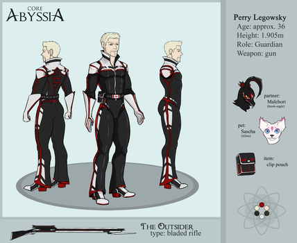 Core Abyssia: Perry reference sheet by Scylla225