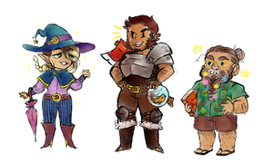 IT'S THE ADVENTURE ZONE by yourrobotoverlords