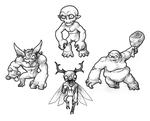 August T7 - Goblin evolutionary line by GTK666