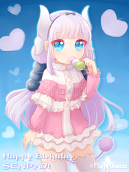 [Gift FA]: Kanna Dango xD by FluffyQueenz