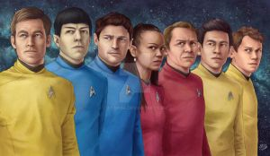 Star Trek AOS Crew by Atarial