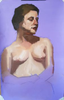 Chest Portrait - Oil by Ares777