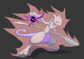 Mewtwo by Fen825