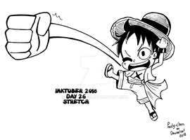 INKTOBER 2018 DAY 26 STRETCH by Pauly-chan