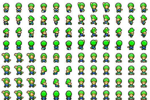 Baby Luigi RPG Maker MV by RetroSpriteResources